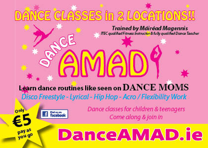 DanceAMAD Classes 2016